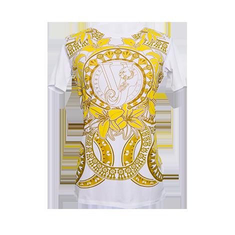 VERSACE JEANS - JERSEY MANAROLA - dámske tričko - TOPDIMILANO 24400899414